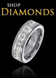 shop diamond mens wedding bands