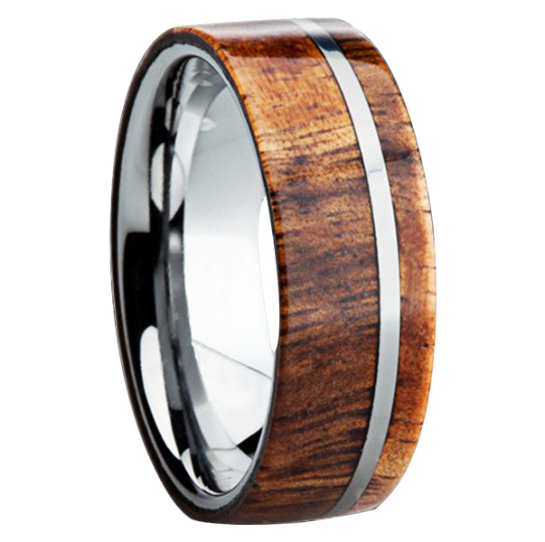 Speaking Of Woods Let S Now Turn To What Has Been And Will Probably Always Be The Number One Category Custom Mens Wedding Bands Exotic Wood Inlays
