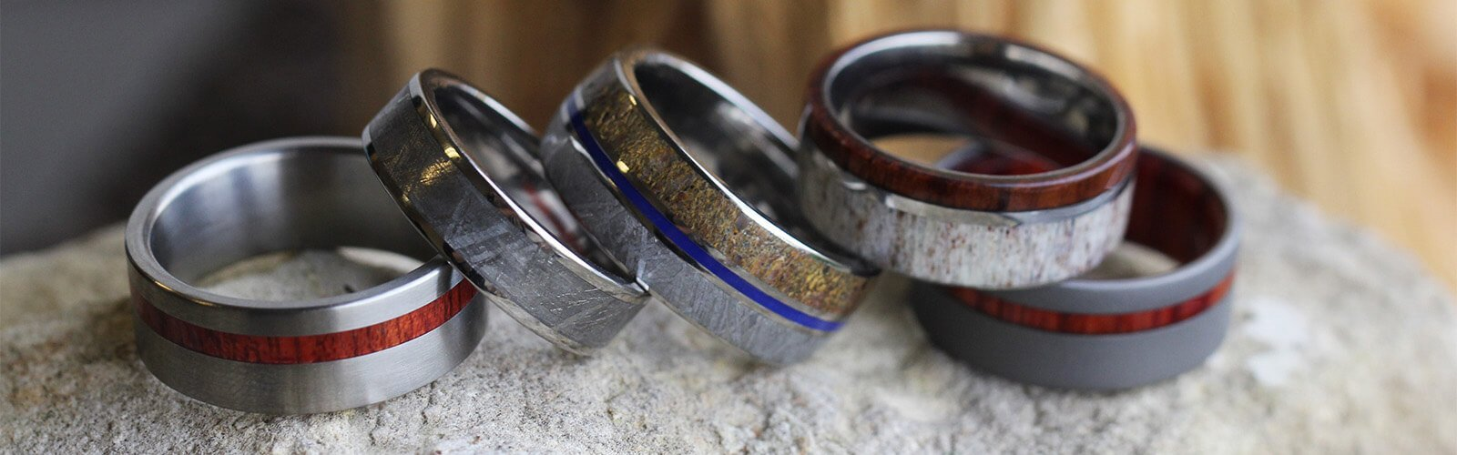 rings stainless bentwood products ring afzelia grade rare steel fit burl with comfort wood metal exotic wedding surgical core